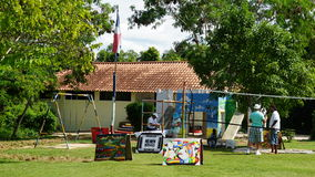 Parque al aire libre, La Romana, República Dominicana Fotos de archivo