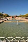 Parque al oeste de Málaga fotos de archivo libres de regalías