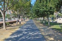 Parque al oeste de Málaga imagen de archivo
