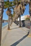 Parque al oeste de Málaga imagenes de archivo