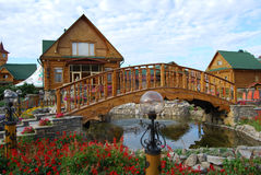 Parque-aldea. Imagenes de archivo
