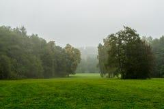 Parque alemán del otoño de la naturaleza Imagen de archivo libre de regalías