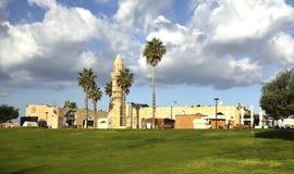 Parque arqueológico de Caesarea Imagens de Stock