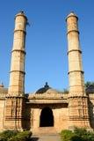 Parque arqueológico de Champaner - de Pavagadh cerca de Vadodara, la India foto de archivo libre de regalías