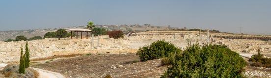 Parque arqueológico de Kourion, Chipre Fotos de archivo libres de regalías