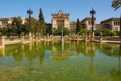 Parque arqueológico del museo i Maria Luisa (Sevilla) Imagenes de archivo