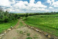 Parque arqueológico del paisaje de Vulci imagenes de archivo