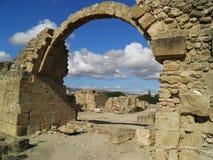 Parque arqueológico en paphos Imágenes de archivo libres de regalías
