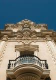 Parque arquitectónico do balboa do detalhe, San Diego Foto de Stock