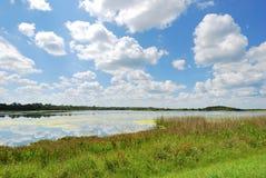 Parque artificial de los humedales de Orlando de los humedales Imagen de archivo libre de regalías
