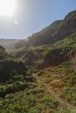 Parque Barranco de Ruiz El ir de excursión en el volcán Fotos de archivo libres de regalías