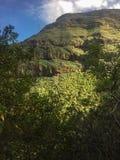 Parque Barranco de Ruiz El ir de excursión en el volcán Imágenes de archivo libres de regalías