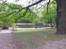 Parque Berlín foto de archivo