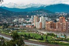 Parque Bicentenario Stock Photo