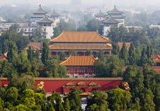 Parque bonito de Jiangshin em Beijing Foto de Stock Royalty Free