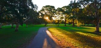 Parque bonito em Sydney imagens de stock royalty free