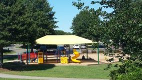 Parque brilhante do jogo de crianças Fotos de Stock Royalty Free