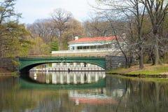 Parque Brooklyn da perspectiva Fotografia de Stock Royalty Free