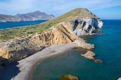 Parque Cabo naturale de Gata Immagine Stock