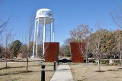 Parque caido de los oficiales, Memphis Arkansas del oeste imagenes de archivo