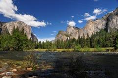 Parque California de Yosemite Fotos de archivo libres de regalías