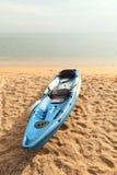 Parque Canoeing en la playa Foto de archivo libre de regalías