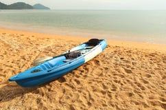 Parque Canoeing en la playa Imagen de archivo libre de regalías