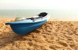 Parque Canoeing en la playa Fotografía de archivo libre de regalías