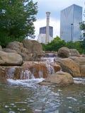 Parque centenial olímpico Foto de archivo libre de regalías