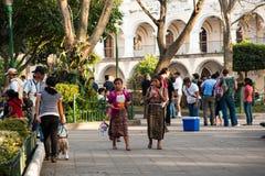 Parque Centraal in Antigua Royalty-vrije Stock Afbeeldingen