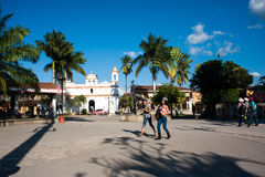 Parque Central in Copan Royalty Free Stock Images