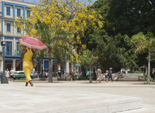 Parque Central, Havana. Stock Photos