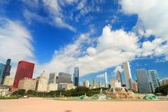 Parque Chicago de Grant Foto de archivo