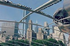 Parque Chicago, Illinois del milenio fotos de archivo