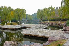 Parque chino Foto de archivo libre de regalías