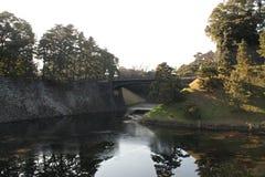 Parque con agua Foto de archivo libre de regalías