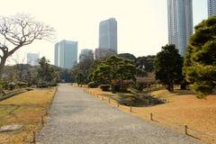 Parque con agua Imágenes de archivo libres de regalías