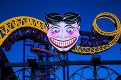 Parque Coney Island de la carrera de obstáculos Foto de archivo libre de regalías