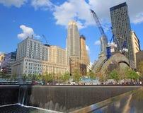 9/11 parque conmemorativo Imagen de archivo