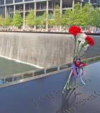 9/11 parque conmemorativo Foto de archivo libre de regalías