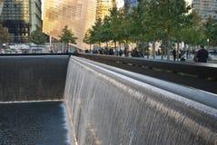 Parque conmemorativo 911 Imagen de archivo libre de regalías
