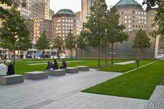 Parque conmemorativo 911 Imagenes de archivo