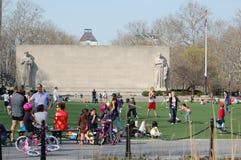 Parque conmemorativo de la guerra, Brooklyn, Nueva York Fotografía de archivo libre de regalías