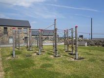 Parque costero del juego Fotografía de archivo