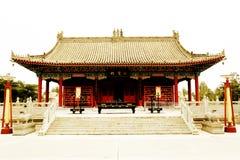 Parque cultural del Taoist de Louguantai en la ciudad de Xian Imagen de archivo libre de regalías