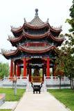 Parque cultural del Taoist de Louguantai en la ciudad de Xian Fotografía de archivo
