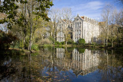 Parque D. Carlos mim, Caldas a Dinamarca Rainha, SilverCo imagens de stock royalty free