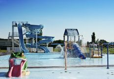 Parque da água foto de stock royalty free