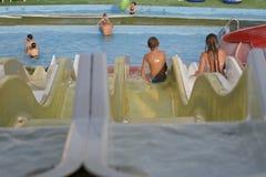 Parque da água Fotografia de Stock