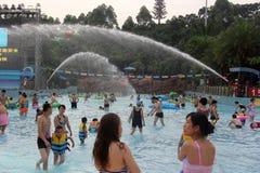 Parque da água de Guangzhou Foto de Stock Royalty Free